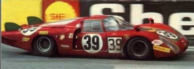 1968,24 heures du mans,rodriguez,bianchi,ford gt 40,alpine,matra