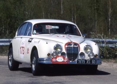 Jaguar, MK II, Tour de France auto, Bernard Consten, vintage, sixties