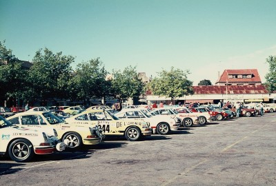 Grand National Tour Auto, 1973, Rallye, Vintage, Dinard